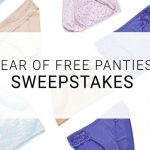 Enter To #Win Free #Soma Vanishing Panties For A Year Worth Over $1300 (Five 2nd place Winners Too!) ~ #Sweeps Ends 3-19