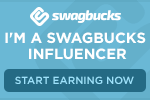 Thank you to all my readers who are joining #Swagbucks!  You will not regret it~