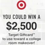 WooHoo!  #Win A $2500 Target College Room Makeover ~ #Sweeps End 8-22