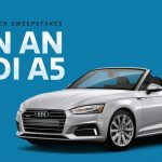 Enter To #Win an Audi A5 Car ARV $57,000 ~ #Sweepstakes Ends 9-10