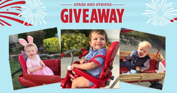 sweepstakes, win radio flyer, daily prizes