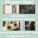 Dreambaby's 20th Anniversary Giveaway Blogger Opp