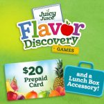 50 #Winners!!!! Enter To #Win a $20 Gift Card and Lunchbox Accessory from Juicy Juice ~ #Sweeps Ends 9-28
