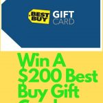Enter To #Win A $200 Best Buy GC ~ #Sweeps Ends 11-5