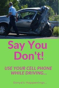texting while driving, driving while on your cellphone is dangerous, texting and dangerous,