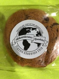 chocolate chip cookie, monthly gift subscription, holiday gift subscription