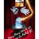 Hocus Pocus!!! Enter To Win A $25 Amazon Or PayPal GC ~ #Giveaway Ends 10-31