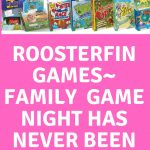 RoosterFin Games ~ Family Game Night Has Never Been Better – #HGG