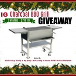 IG Charcoal BBQ Grill #Giveaway (2 #Winners ~ $798 TRV) Ends 12/25