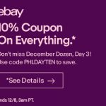 ebay coupon, savings,