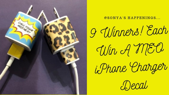 giveaway, customize your iphone charger, win an iphone charger decal