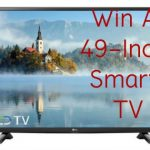 easy to enter sweeps, win a tv