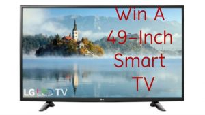 easy sweeps to enter, enter to win, win a tv