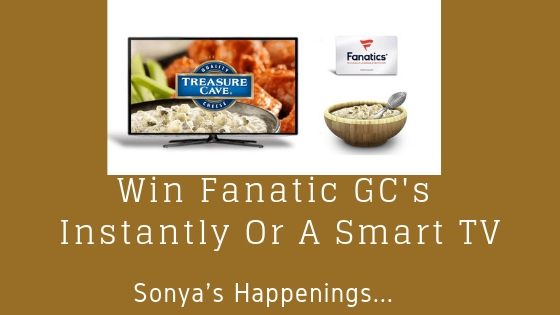 Enter To #Win a $100 Fanatics Gift Card Instantly or a 65in Smart 4K
