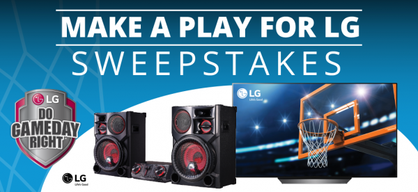 enter  to win, win an entertainment center, win a prize pack
