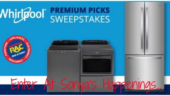 Enter To #Win a Whirlpool Washer & Dryer or Refrigerator