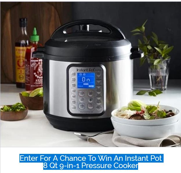 win an instant pot, new sweepstakes, enter to win