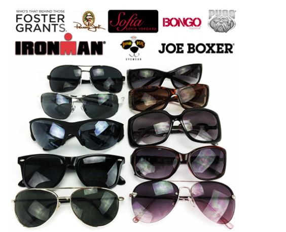 These sunglasses are a great deal at $1.87 each.