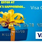 Enter to win a $500 Visa ~ Sweepstakes ends 7-16