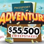 Enter to win $55,000! Sweepstakes ends 5-1-20