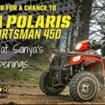 Polaris ATV, Polaris Sportsman, Sweepstakes, Enter to win