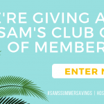 Enter to win a Sam's Club membership