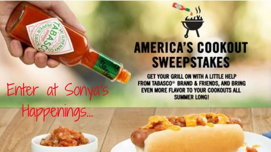 Enter to win a grilling prize pack from tabasco